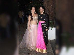 Dangal Girls Rocked Their Diwali Looks At Aamir Khan's Party