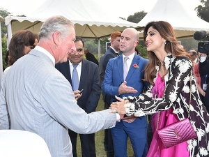 Shilpa Shetty Met Prince Charles And His Wife