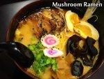 Mushroom Ramen