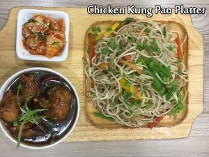 Chicken Kung Pao Platter