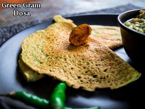 Green Gram Dosa Recipe