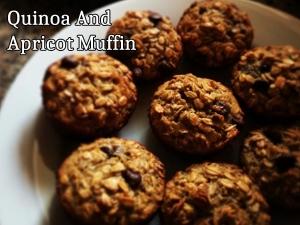 Quinoa And Apricot Muffin
