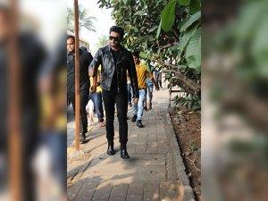 Ranveer Singh's Sheer Dapper Avatar; Slaying In Black