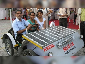 He Made Solar Car To Free India From Pollution