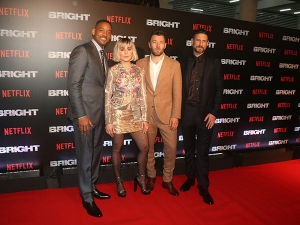 Bright Cast Flaunted Their Styles