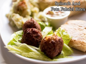 Spinach And Feta Falafel Bites Recipe