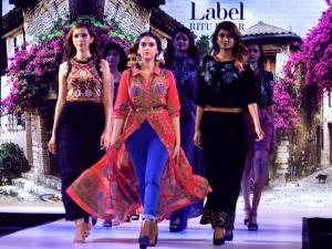 Aditi Rao Hydari In Bohemian Avatar At The Orion Fashion Week