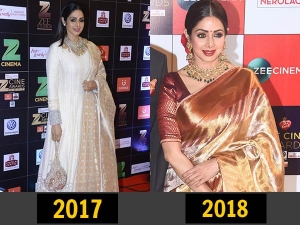Celeb Style Comparison At The Zee Cine Awards
