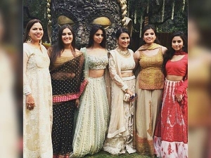 Suhana Khan Turned Traditional During A Wedding