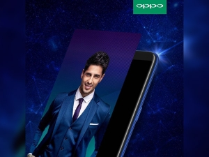 Oppo F5 Sidharth Limited Edition Smartphone Launched It S Time To Capture The Real You