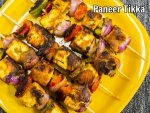 Low Calorie Paneer Tikka Recipe