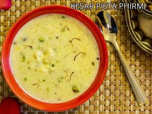 Kesar Pista Phirni Recipe