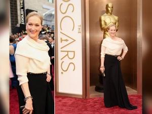 Best Looks Of Meryl Streeps At Oscars