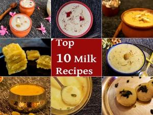 Top 10 Milk Recipe