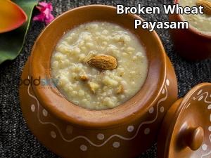Broken Wheat Payasam Recipe