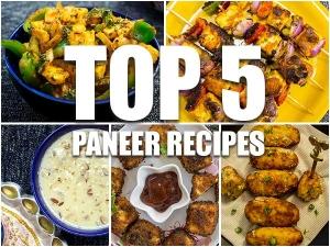 Top 5 Paneer Recipe