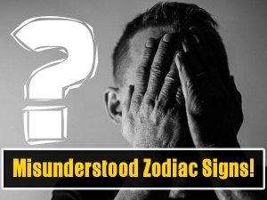 6 Zodiac Signs That Are Always Misunderstood