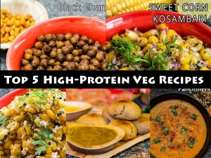 Top 5 High Protein Veg Recipe