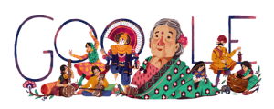 Google Doodle Remembers Feminist Freedom Fighter Kamaladevi