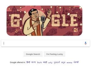 Google Celebrates The 114th Birth Anniversary Of Kl Saigal With A Doodle