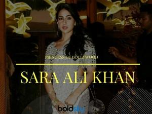 We Can T Get Over Sara Ali Khan S Modern Ethnic Look A Weddi