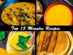 Top 15 Minutes Recipe