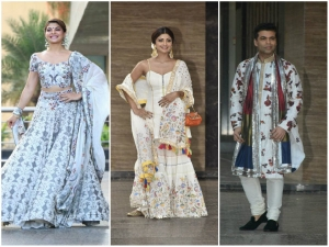 Who Are Dazzling At Sonam S Sangeet