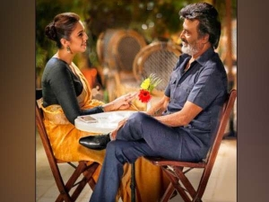 Rajinikanth Huma Qureshi Look Amazing Together This Picture