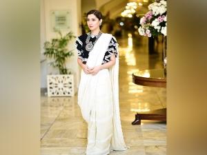 Can Blouse Glam Up Sari Let Mahira Khan Show You How