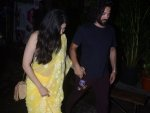 Date Night No Dresses So What Wear Sari Like Shruti Haasan