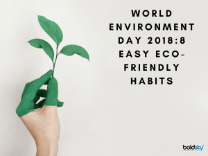 World Environment Day 2018 10 Easy Eco Friendly Habits