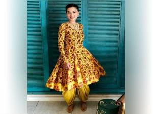 Gauhar Khan S Vibrant Eid Ul Fitr Attire Is Things Fun Flirt