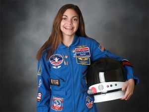 She Might Be The First Person To Go On Mars