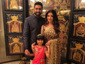 Aishwarya Abhishek Aaradhya Up The Stylish Factor At Akash