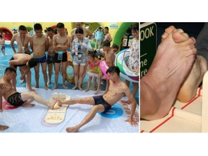 Footsie New Toe Wrestling Competitions Has People Kicking Up A Weird Trend