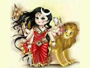 Gupt Navratri How A Lion Became The Vahana Of The Goddess