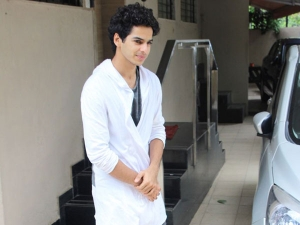 Woah Ishaan Khatter S Quirky White Shirt Is Simply Unmissab
