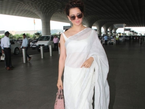 This Classic White Sari Kangana Ranaut Is The Best So Far De