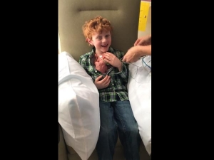Kid Got Emotional When He Saw His Baby Brother