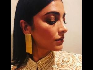 Shruti Haasan Sari Fashion Fia Gala Dinner