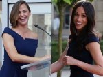 Jennifer Garner Meghan Markle Same Pre Wedding Dress