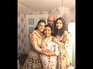 Kajol Madhuri Dixit Ethnic Wears Wedding
