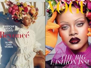 Beyonce V S Rihanna Whose Floral Headgear We Loved More