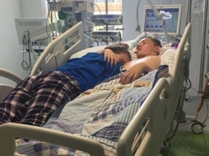Girl Giving Boyfriend Last Hug Before His Life Support Is Taken Out