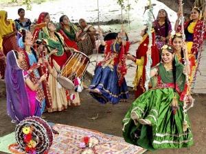 Hariyali Teej Date Time Vrat Vidhi Significance