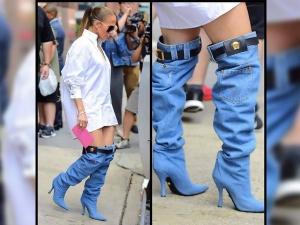 Jennifer Lopez S Pants Falling Down Look Is The Trendiest St