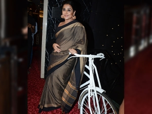Vidya Balan S Latest Cotton Sari Is From Flea Market Pondic