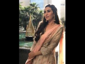 Karisma Kapoor Pastel Hued Salwar Kameez Janmashtami