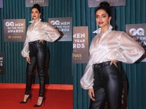 Deepika Padukone Fashion At Gq Men The Year Awards