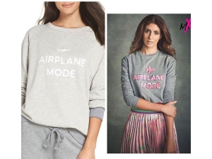 Shweta Bachchan S Copied Mxs Sweatshirt Photoshoot